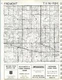 Fremont T11N-R9E, Tuscola County 1971, Michigan, 1971 Fine-Art - Mall America Map Of Store