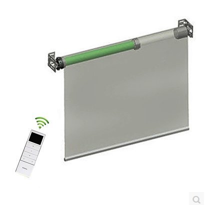 Tubular Roller Shade Motor Kit with Remote Control for Motorized Electric Roller Blind Shades (Wired) by FineFun (Image #3)