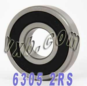 6305-2RS Sealed Bearing 25x62x17 Ball Bearings