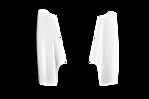 (FRP Fiber Glass Universal Top-Secret Rear Diffuser Vortex Addon Add On (2pcs) Fit NISSAN R32)