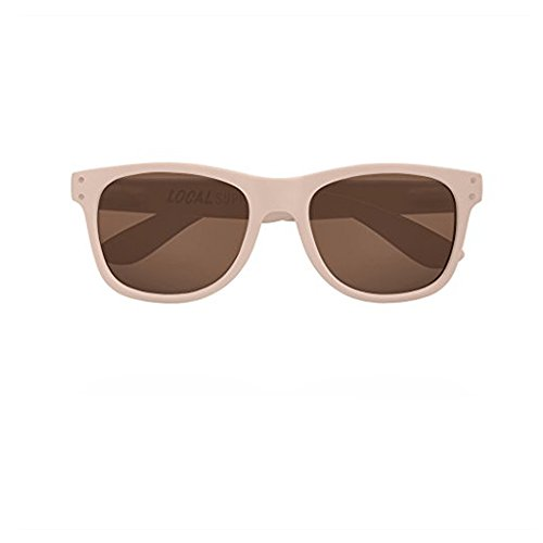 Local Supply Unisex Everyday Pacific Matte Beige / Brown Tinted - Sunglasses Local Supply