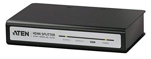 - ATEN 2-Port HDMI Video Splitter VS182 (Black)