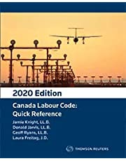 Canada Labour Code: Quick Reference - 2021 Edition