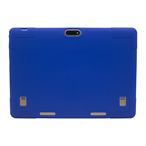 Transwon 10.1 Tablet Case for Lectrus 10 Inch Tablet, BENEVE 10.1, YELLYOUTH 10, KUBI 10, Huashe 10, Tagital 10.1, Wecool 10.1, Yuntab K107/K17, Plum Optimax 10, BEISTA 10.1, llltrade 10.1 - Navy