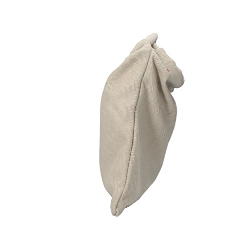 SUPERGA borsa donna celeste beige bianco tela (Beige)