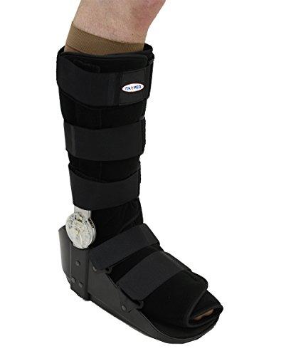 (ITA-MED ROM Post Op Fracture Walker Sports Injury Brace, L)