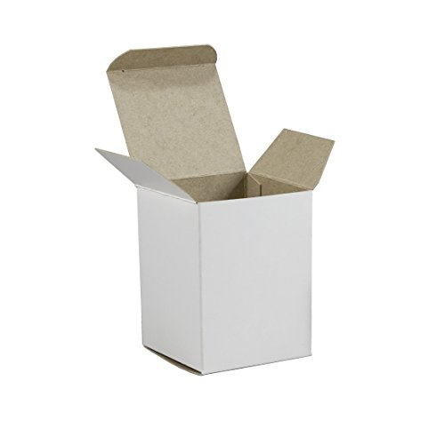 - Stayflats Reverse Tuck White Folding Carton | Strong Lightweight 24 pt All-Purpose Mailing And Packing Box | Easy To Assemble Store And Deliver | 500 Per Case | 1-1/2