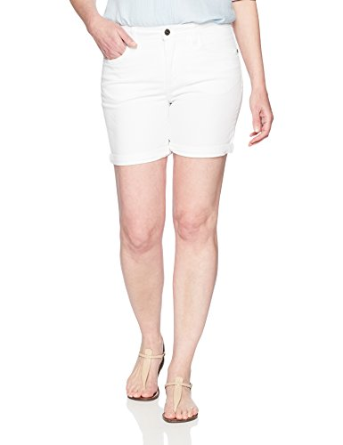 (Riders by Lee Indigo Women's Rolled Cuff Midrise Denim Short with 6