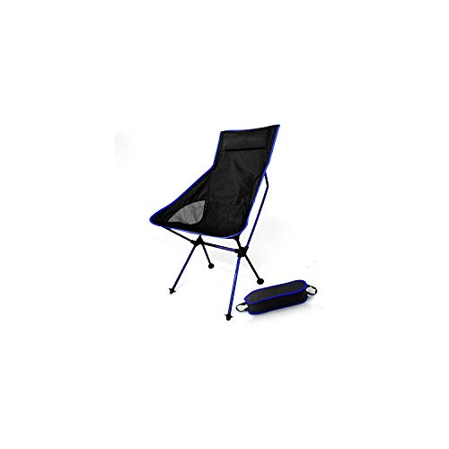 Folding Portable Moon Chair with Pillow Fishing Camping Extended Hiking Seat Long Beach Chair,Ad73600Db