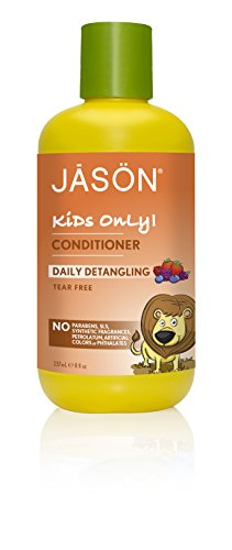 JASON Kids Only, Daily Detangling Conditioner, 8 Ounce (Natural Products Jason Hair)