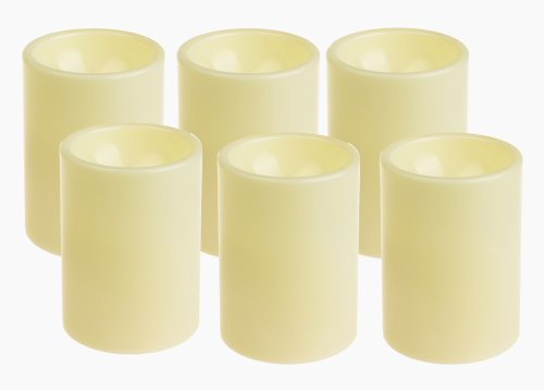 Home impressions Flameless Battery Opera - Ivory Outdoor Pillar Candles Shopping Results