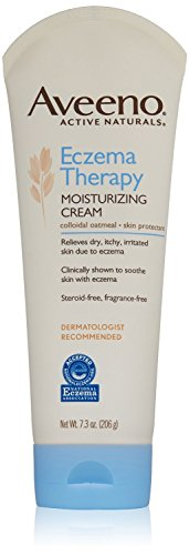 Aveeno Active Naturals Eczema Therapy Moisturizing Cream,7.3 Ounce (Pack of 2)