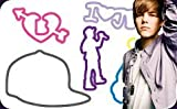 "Justin Bieber Silly Bandz 24-pack + Free ""Forever Necklace"" to Wear Your Justin Bieber Bandz On!!!"