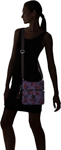 Bag Zamor Cross Kipling Womens Night Floral body Kipling Womens Multicolour 1YwaBB