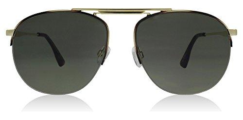 Le Specs Women's Liberation Sunglasses, Dark Gold Tortoise/Khaki, One - Specs Aviator