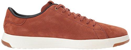 brown GrandPro Haan brandy white milled nubuck Cole Tennis Men's Sneakers optic 7BwqgA