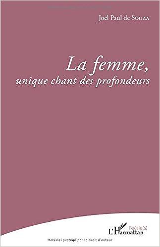 La Femme Unique Chant Des Profondeurs French Edition
