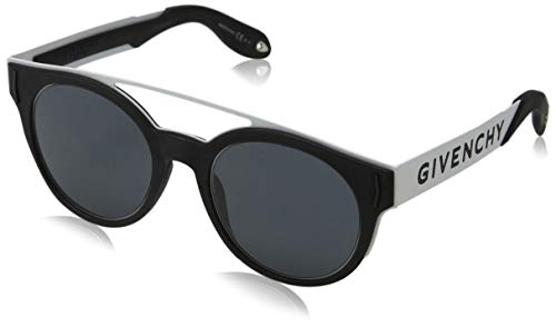 Sunglasses Givenchy Gv 7017/N/S 080S Black White/IR gray blue - Givenchy Glasses