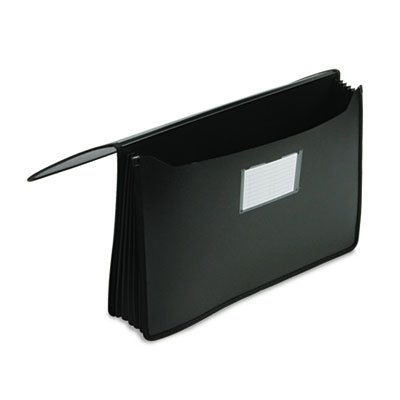 ccordion Expansion Wallets, Poly, Legal, Black, Sold as 1 Each (Expandable Poly Premium Wallets)