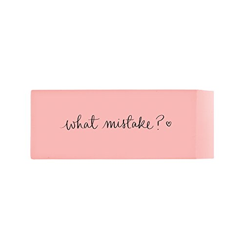 Eccolo Dayna Lee Jumbo Eraser, Pink, What -