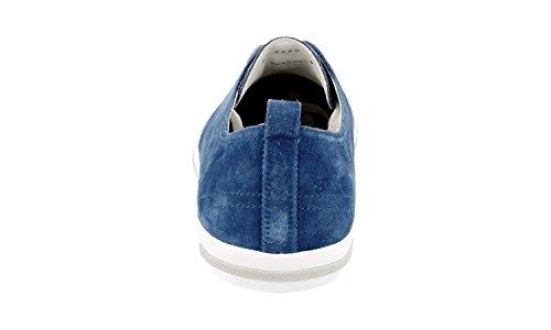 Sneaker In Pelle Prada Mens 4e2550 Oq4 F0016