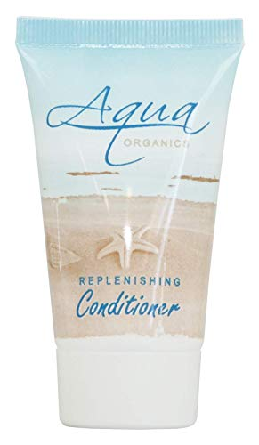 Aqua Organics Conditioner, 1 oz. Tube, Enriched with Pure Aloe and Organic Olive Oil (Case of 300)