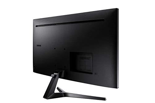 """Samsung LS34J550WQUXEN Ultra WQHD Monitor da 34""""con Base a Doppio Snodo, 3440×1440, Formato 21:9, Cavi HDMI e Display Port"""