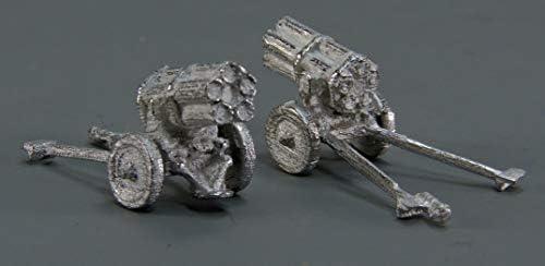 マイクロギャラリー ミリタリーシリーズ 21cmNebelwerfer42 金属素地仕上げ2個