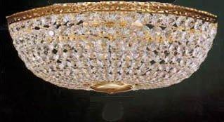 swarovski crystal lighting. Swarovski Crystal Trimmed Chandelier! French Empire Flush Basket  Chandelier W/ Chandeliers Swarovski Crystal Lighting O
