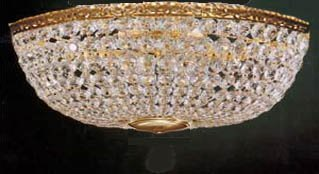 Swarovski crystal trimmed chandelier french empire crystal flush swarovski crystal trimmed chandelier french empire crystal flush basket chandelier w swarovski crystal chandeliers mozeypictures Choice Image