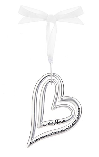 Double Heart Ornament - 5