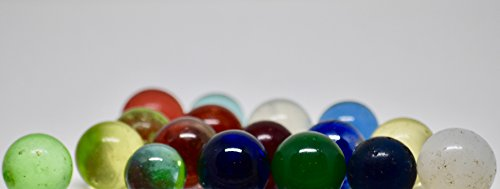 Vintage/Antique Marbles - 207 Total - Aggies, Shooters, Swirls, Clearies, Pee Wees, Opaques, Cub Scout, Plus Many Others - Rare Collectible