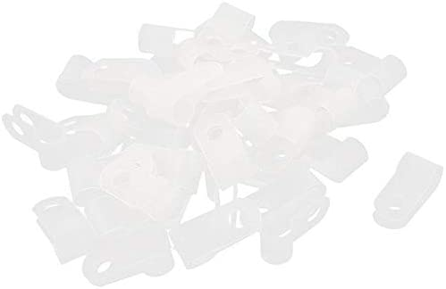 HAWORTHS 1 2 Inch. Rope Light P-Style Mounting Clips-50 Pack
