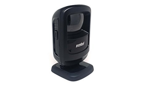 Zebra (Formerly Motorola Symbol) DS9208 Digital Hands-Free Barcode Scanner (1D and 2D) with USB Cable by Zebra/Motorola Solutions
