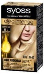syoss Oleo Intense 9 – 10 brillante Rubio Color del pelo (3 ...