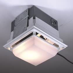Nutone Ceiling Wall Ductless Exhaust Fan Light Model 682lnt Built In Household Ventilation Fans Amazon Com