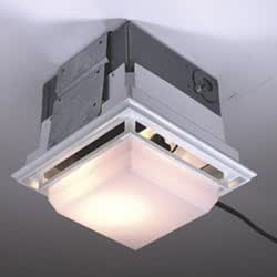 Nutone Ceiling Wall Ductless Exhaust Fan Light Model
