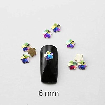 Paquete Piedras de colores con forma de lágrima alargada, rectangular, de forma de lágrima, para uñas, decoración en 3D, 7