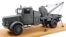 AFV Club 1/35 German Army Kfz.100 Byusshingu NAG 3t crane truck Plastic FV35279