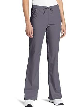 Dickies Scrubs Women's Flare JR Fit Leg Pant, Pewter, Medium