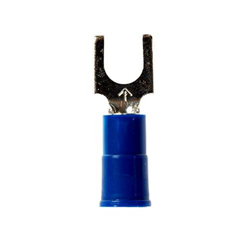(3M(TM) Highland(TM) Vinyl Insulated Block Fork Terminal BFV14-6Q, AWG 16-14, (Pack of 25))