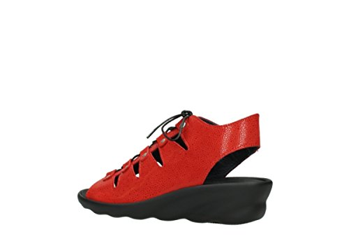 Womens Red Wolky Sandals Nubuck 90500 Arena 03126 0Fn0TEg