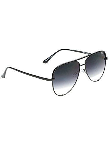 Quay Women's x Desi Perkins High Key Sunglasses, - High Black Key Fade