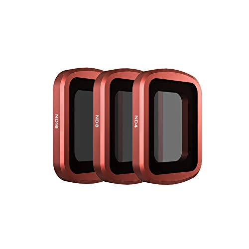 Skyreat Camera Lens ND Filters Set 3 Pack-(ND4, ND8, ND16) Compatible with DJI Osmo Pocket Gimbal Camera