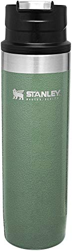 Stanley The Unbreakable Trigger-Action Mug 20oz Hammertone Green