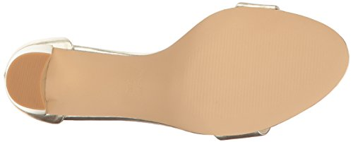 Nine West Women's Pruce Patent Dress Sandal Light Gold free shipping great deals free shipping professional for sale official site 48oqRRzpUU