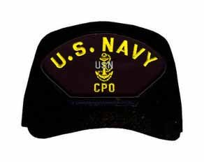 MilitaryBest US Navy Chief Petty Officer (CPO) Ball Cap