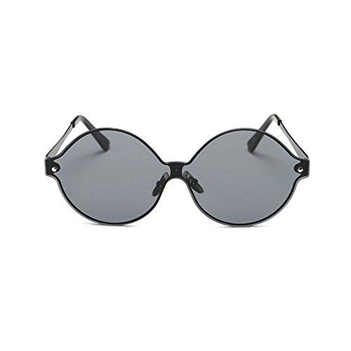Aoligei Lunettes de soleil rétro mode lunettes réfléchissantes de couleur vive n3UwN4w