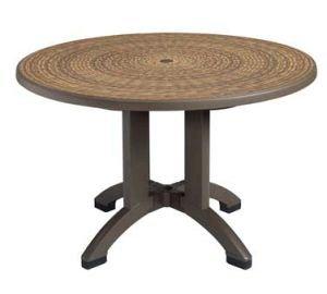 Aquaba Outdoor Table, 48