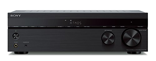 Lowest Prices! Sony STR-DH790 7.2-ch AV Receiver, 4K HDR, Dolby Vision, Dolby Atmos, dts:X, with Blu...